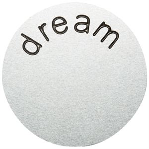 Picture of 'Dream' Large Silver Coin